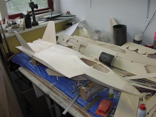 F22 Raptor RC Jet Kit – RC-builder