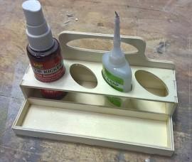 zap glue tray