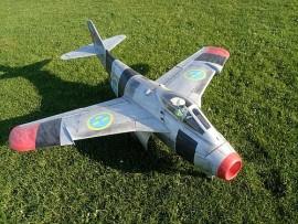 """Saab J29 """"TUNNAN"""""""