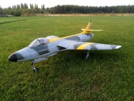 Hawker Hunter edf 90mm