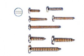 Metal sheet screw 2.2x9 10 pcs